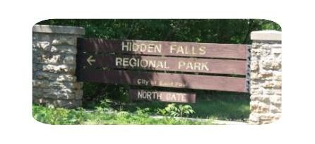 Photo of Hidden Falls sign