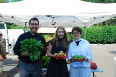 Image of Jered and Keely at Farmer's Market