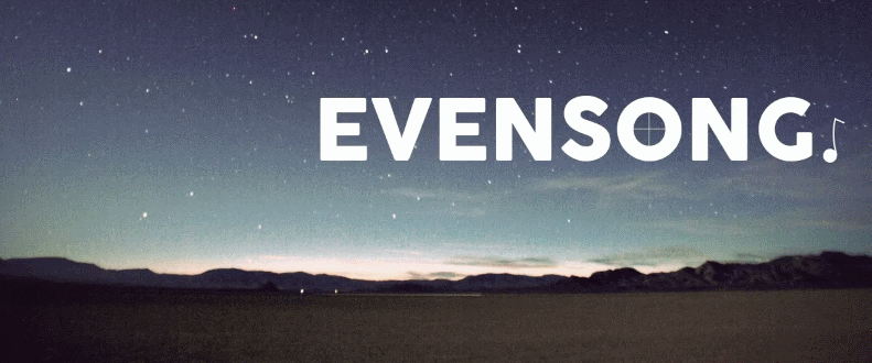 Evensong Header
